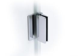 TOPLINE Beschlag Glas-Wand Außenöffnung (Ansicht innen)