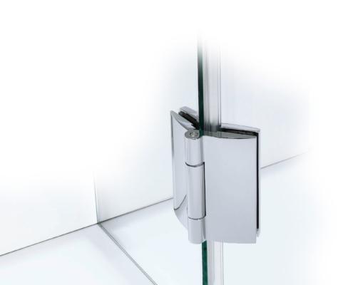 TOPLINE Beschlag Glas-Glas 135° (Ansicht außen)